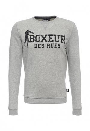Свитшот Boxeur Des Rues. Цвет: серый