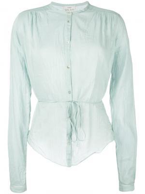Belted shirt Forte. Цвет: зелёный