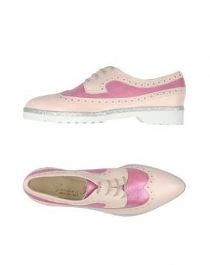 Обувь на шнурках GIORDANA F.. Цвет: светло-розовый