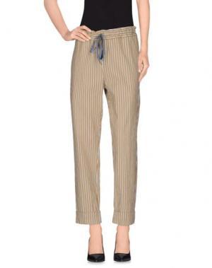 Повседневные брюки ZHELDA. Цвет: зеленый-милитари