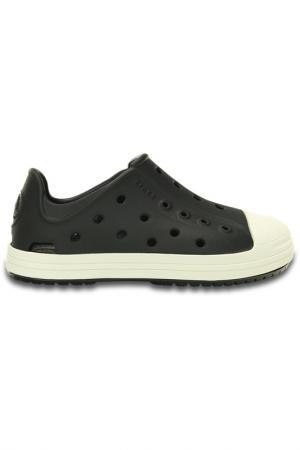 Туфли Crocs. Цвет: черный, белый
