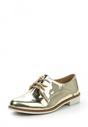 Ботинки PTPT. Цвет: золотой
