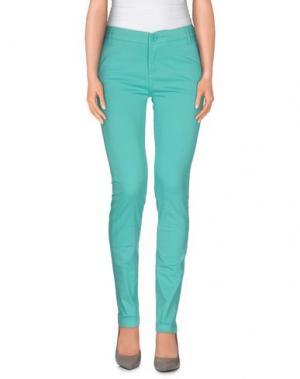 Повседневные брюки ATELIER FIXDESIGN. Цвет: бирюзовый