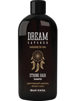 Шампунь укрепляющий. Объем и сила. Strong hair shampoo DREAM CATСHER. Цвет: белый
