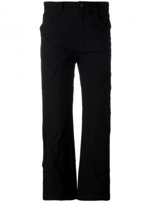 Укороченные брюки Pia Damir Doma. Цвет: чёрный