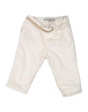 Повседневные брюки PAPERMOON. Цвет: слоновая кость