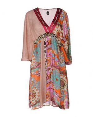 Короткое платье NOLITA. Цвет: светло-фиолетовый
