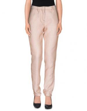 Повседневные брюки MASSIMO ALBA. Цвет: желто-коричневый