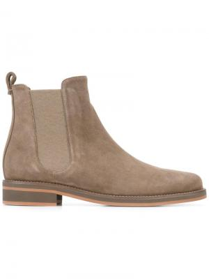 Ботинки-челси Loro Piana. Цвет: серый