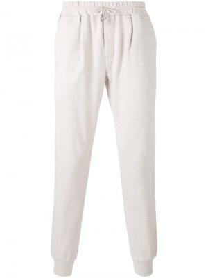 Спортивные брюки с эластичным поясом Eleventy. Цвет: телесный