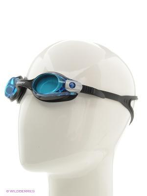 Очки плавательные S28 Larsen. Цвет: черный, синий