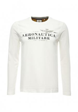 Лонгслив Aeronautica Militare. Цвет: белый