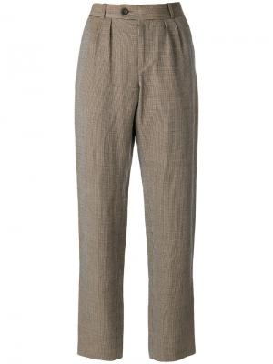 Мешковатые брюки A.P.C.. Цвет: коричневый
