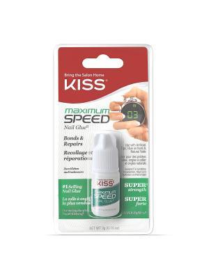 Kiss Клей для ногтей Max speed Nail Glue 3 gr. ВК135. Цвет: прозрачный