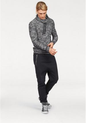 Пуловер JOHN DEVIN. Цвет: молочно-белый меланжевый