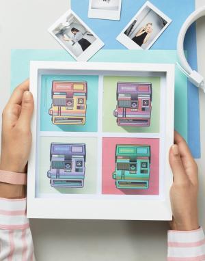 Polaroid Рамка для 4 полароидных фотографий. Цвет: мульти