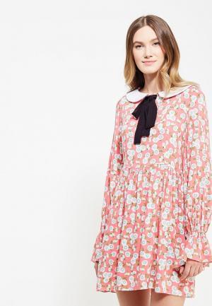 Платье Ли-лу. Цвет: розовый