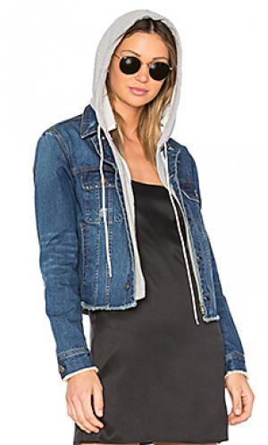 Джинсовая куртка с капюшоном beacon Central Park West. Цвет: none