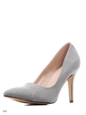Туфли Amazonga. Цвет: серый