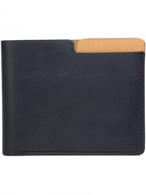 Бумажник New York Isaac Reina. Цвет: чёрный