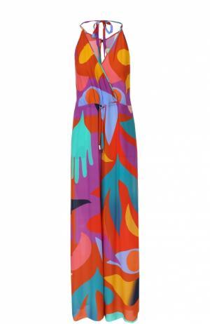 Комбинезон свободного кроя с ярким принтом Lazul. Цвет: разноцветный