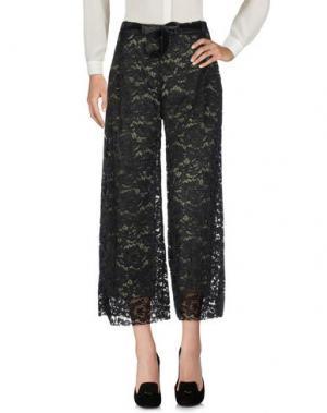 Повседневные брюки MICHELA MII. Цвет: черный