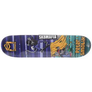 Дека для скейтборда  Smolik Sk8rats Multi 32 x 8.0 (20.3 см) Sk8mafia. Цвет: мультиколор