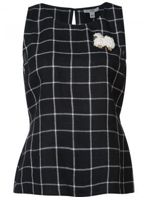 Блузка Sami Zac Posen. Цвет: чёрный