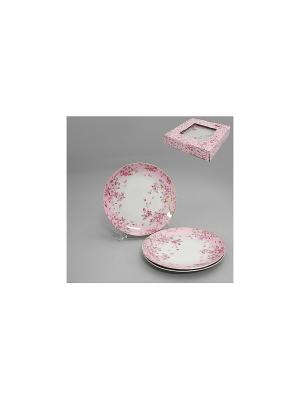 Набор тарелок 3 шт. НЕЖНОСТЬ SAGURO. Цвет: белый