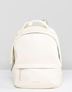 Matt & nat Мини-рюкзак Munich. Цвет: белый