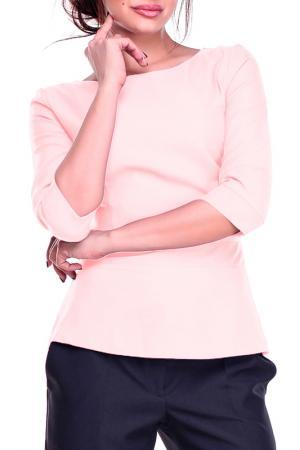 Блуза REBECCA TATTI. Цвет: нежно-персиковый