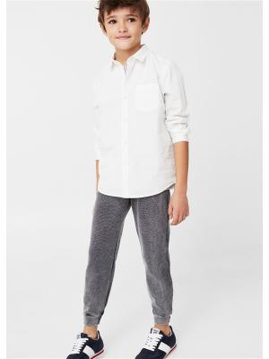 Рубашка - DAMIAN8 Mango kids. Цвет: белый, прозрачный