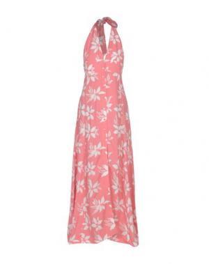 Длинное платье PAUL & JOE. Цвет: розовый