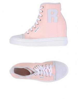 Высокие кеды и кроссовки RUCO LINE. Цвет: светло-розовый