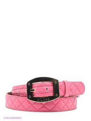 Ремень GUESS. Цвет: розовый