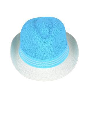 Шляпа Dispacci. Цвет: бирюзовый