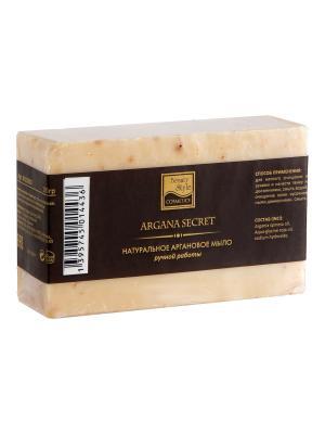 Натуральное аргановое мыло ручной работы 100гр Секрет Арганы Beauty Style. Цвет: серый