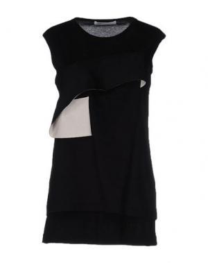Платье до колена BEATRICE. Цвет: черный