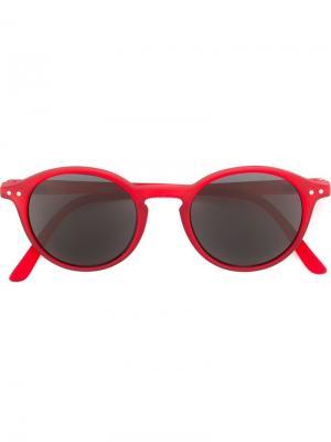 Солнцезащитные очки See Concept. Цвет: красный