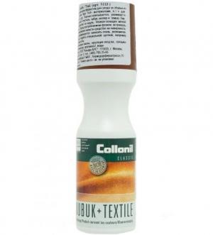 Жидкость для замши с мягкой губкой нанесения Collonil. Цвет: коричневый