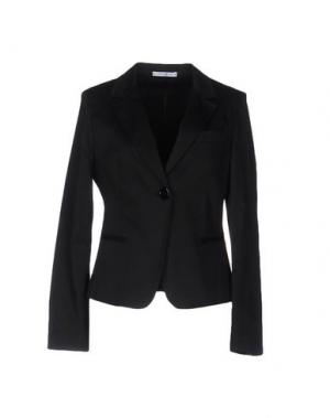 Пиджак DEEP BLUE. Цвет: черный