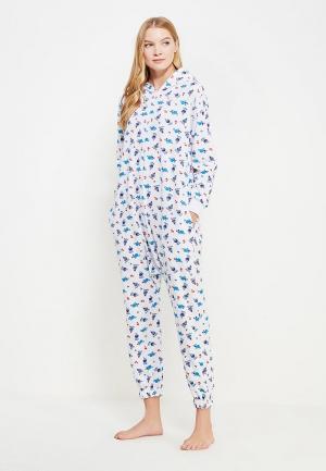 Пижама HandyWear. Цвет: белый