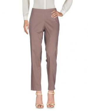 Повседневные брюки BARBARA LEBEK. Цвет: хаки