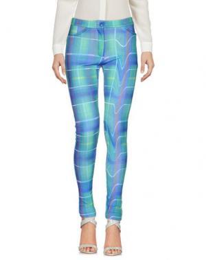 Повседневные брюки TEE-TREND. Цвет: синий