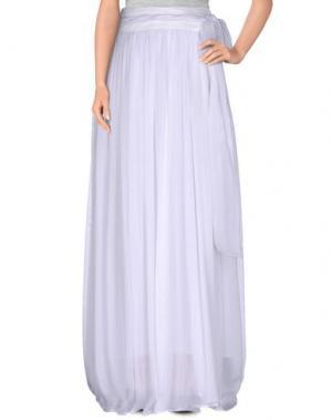 Длинная юбка MARIAGRAZIA PANIZZI. Цвет: белый