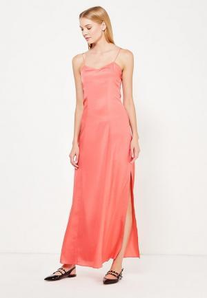 Платье Armani Exchange. Цвет: коралловый