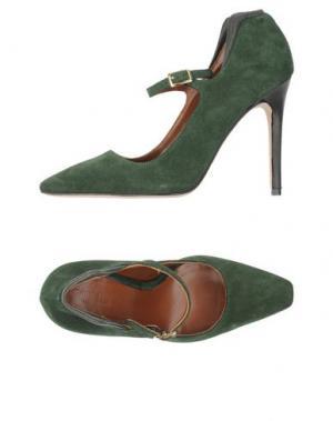 Туфли GRIFF ITALIA. Цвет: зеленый