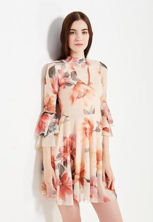 Платье Edge Street. Цвет: оранжевый