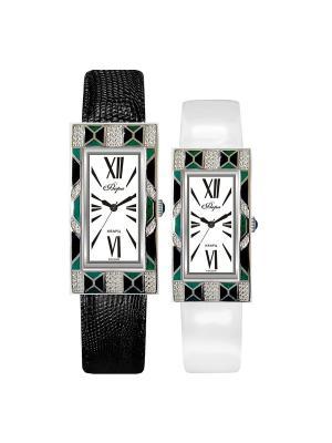 Часы Mikhail Moskvin. Цвет: черный, зеленый, серебристый
