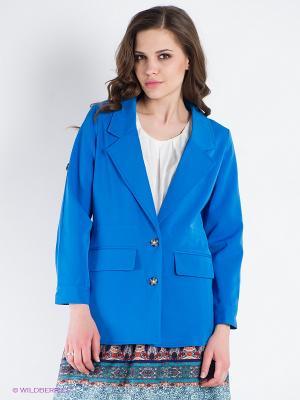 Жакет Lavand. Цвет: голубой
